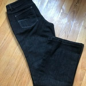 Black WHBM jeans in new condition! Size 4!